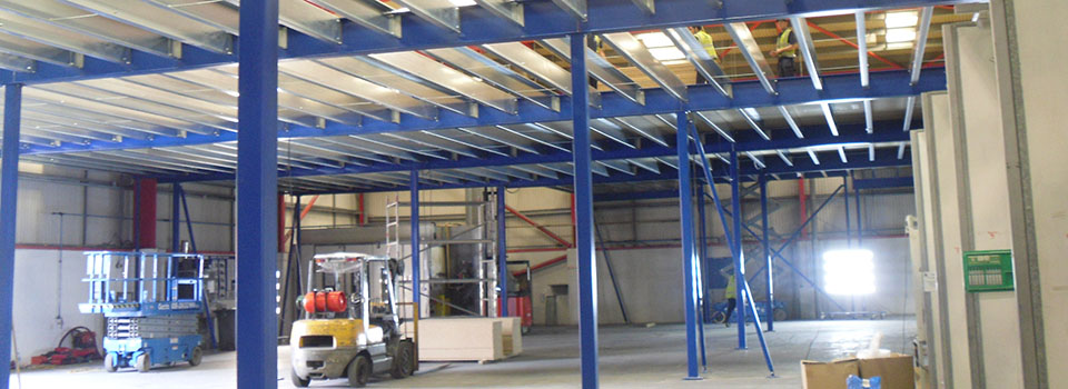Top quality Mezzanine installations - all structures designed to the highest standards within the industry