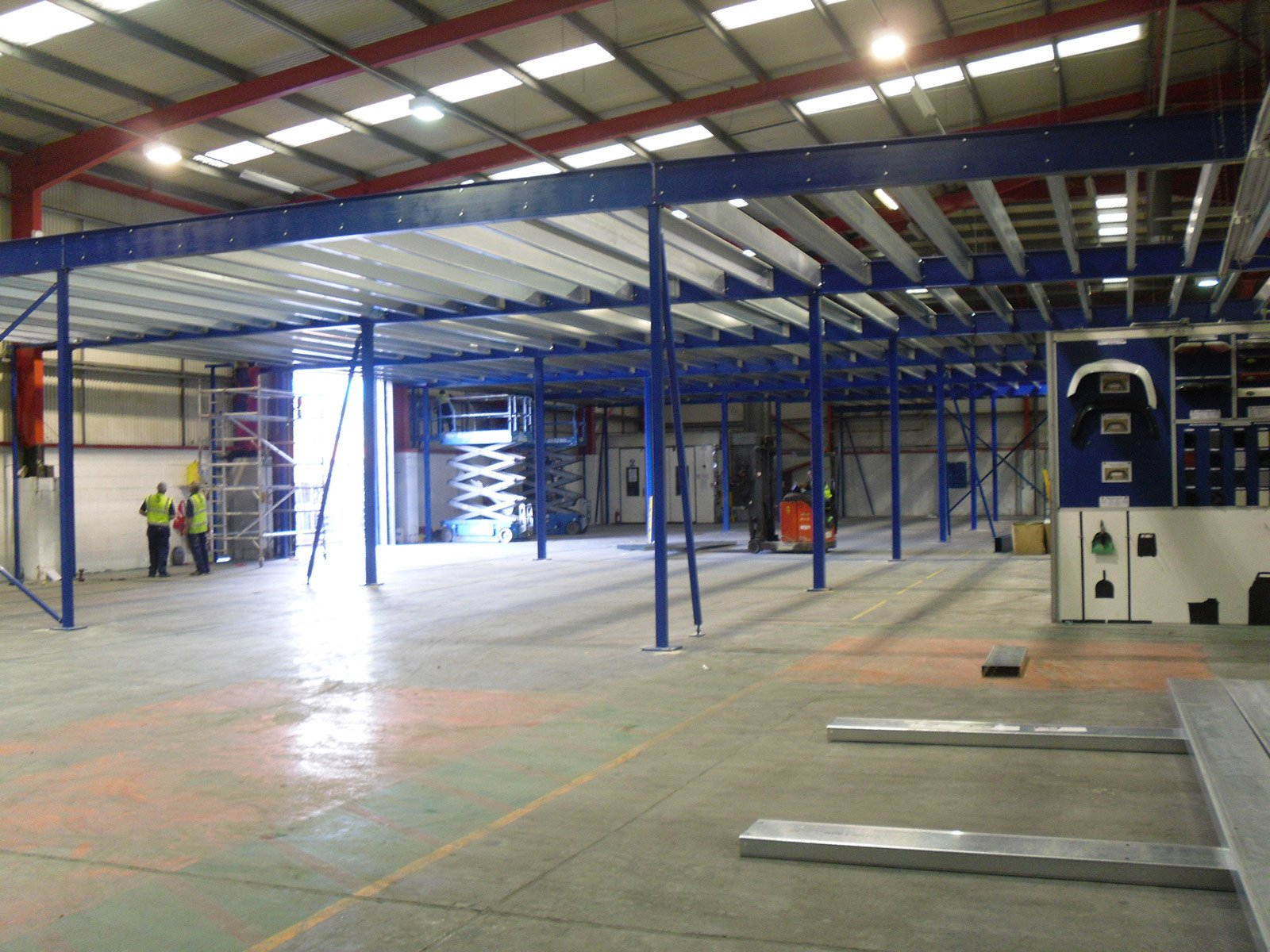 Mezzanine Floor UK Design, Manufacturer, Supply  and Installation