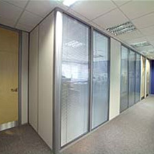 Lock and handle cavity sliding door sets - 30 Minute Fire Resistant Office Partitioning Systems