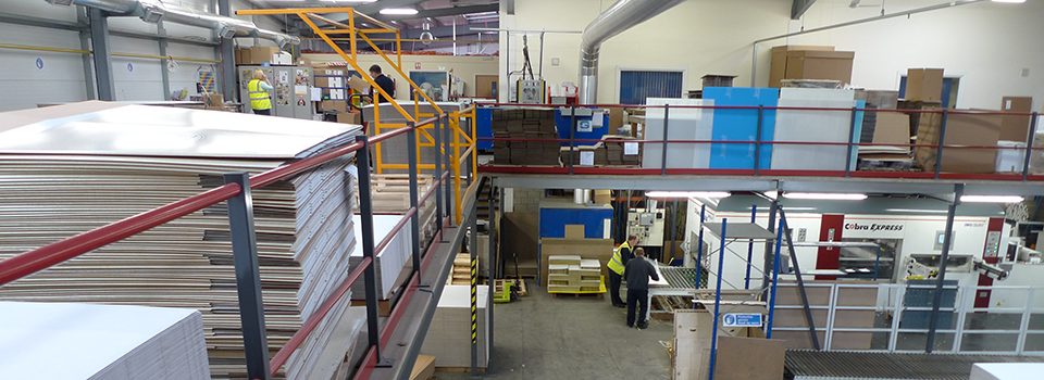 Mezzanine Floors - Designed to your specification